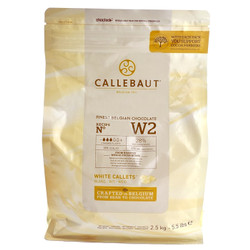 callebaut white chocolate couverture 28 coklat W2NV 250 gr