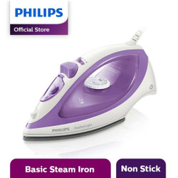 Philips GC1418 Setrika Uap / Gosokan Steam Iron GC-1418 Feather Light