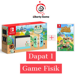 Nintendo Switch Limited Edition Animal Crossing New Horizons + Game