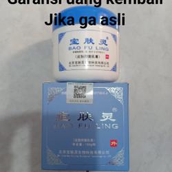 BAO FU LING biru 150 gram salep luka bakar obat luka bakar