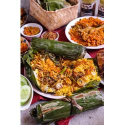 Nasi Bakar Kecombrang 2 pc