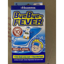 Bye Bye Fever Anak 1 Box isi 5