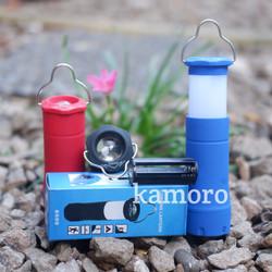 lampu tenda - lentera - senter camping zoom 6699
