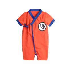 Baby dragon ball kimono goku kimono dragonball romper