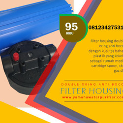 Filter housing 10 inch double oring 3/4