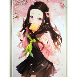 Poster Anime Kimetsu no Yaiba 18 Demon Slayer Nezuko Kamado