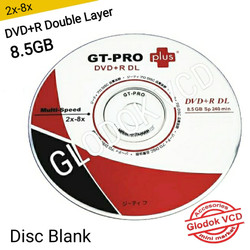 DVD+R DL 8x Double Layer GT-Pro DVD Kosong / Disc Blank