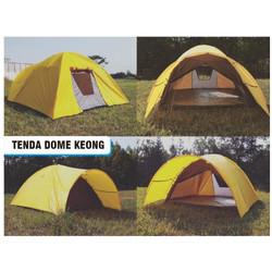 Tenda Dome Keong Double Layer Kaps 8