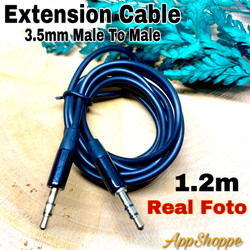 Audio Cable 3.5mm to 3.5 mm Male to Male Extension 1.2m Jack AUX Cable
