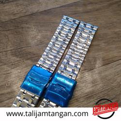 24mm Solid Stainless steel Strap Tali jam Tangan Rantai