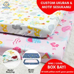 Sarung Kasur / Alas Box Bayi littlekiky