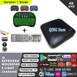 android tv box HG680 fullset root ram 2GB with playstore - Mini Keyboard
