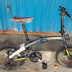Sepeda Lipat 20 inch PASIFIC 2980 RX 8.0 2 x 8 speed Rem Hidrolik