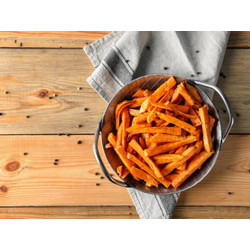 frozen sweet potato coated Fries ubi goreng 1 kg