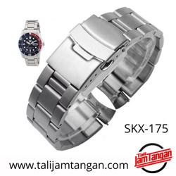 20mm 22mm Tali Jam Tangan Rantai Seiko Aftermarket SKX-175 SKX-173