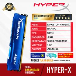 RAM KINGSTON HYPER X FURY GAMING DDR3 4GB PC 12800 LONGDIMM