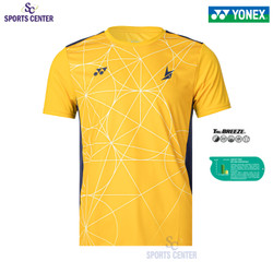 New Limited Kaos / Jersey Yonex Lindan Edition 1808 COC Lemon Chrome - XL
