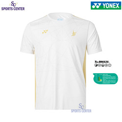 New Limited Kaos / Jersey Yonex Lindan Edition 1808 COC White - XXL