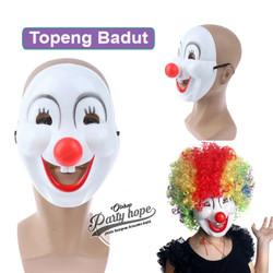 Topeng Badut / Topeng halloween / Mask Party / topeng hidung merah