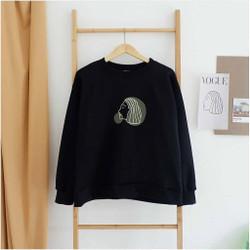 Sweater Lucu Zera Face Outerwear Korea