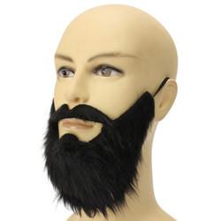 Jenggot palsu janggut brewok kumis wig rambut fake beard cosplay