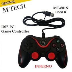 Gamepad Single Getar Joystick Stik Computer M-Tech Inferno MT-881S - Hitam