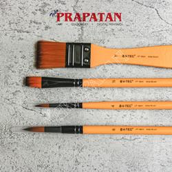 Kuas Lukis V-TEC VT184/4 set 4 pcs / Paint Brush set