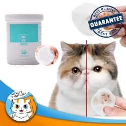 Pet Eye Wipes Tear Stain Remover - Pembersih Noda Mata Anjing & Kucing