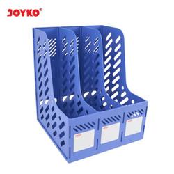 Box File Keranjang Plastik Rakit 3 Susun Joyko BOF-3BE Blue