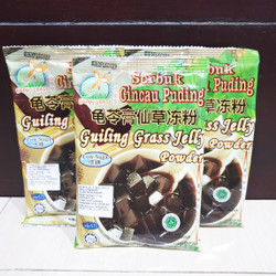 Happy Grass Serbuk Cincau Pudding / Guiling Grass Jelly Powder Puding