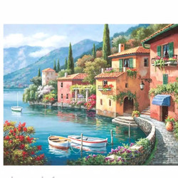 DIY Oil Painting Paint by Number Kits DIY Canvas Painting
