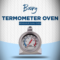 Termometer Oven - Thermometer Dial Stainless Analog 300C