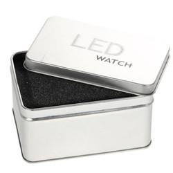 Kotak Box Alumunium / kotak Exclusive Jam Tangan LED Tokyo Flash