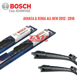 WIPER MOBIL BOSCH FRAMELESS CLEAR AVANTAGE AVANZA / XENIA ALL NEW