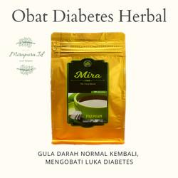 Mira Teh Daun Kersen Herbal ampuh mengobati Diabetes - Jantung - dll