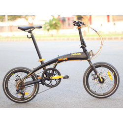 Sepeda lipat FOLDING BIKE POLICE MILAN BONUS TAS LIVI 17 Agustus