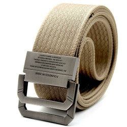 Rhodey Craftman Tali Ikat Pinggang Pria Canvas Buckle Belt - B1029 - cream