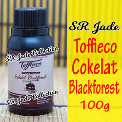 Toffieco Coklat Blackforest Pasta 100 gr Tofieco Tofico Chocolate 100g