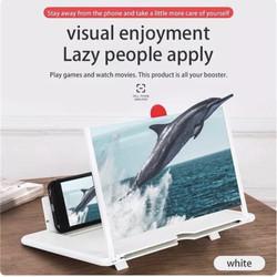 Kaca Pembesar Layar Handphone HP - 10 Inch, Putih