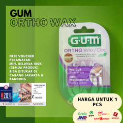 Gum Ortho Wax/Wax Kawat Gigi
