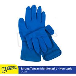 Lucsa Sarung Tangan Multifungsi L - Non Lapis Rubber Gloves Large