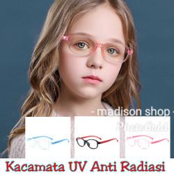 Kacamata Anak Blue Light Anti Radiasi Kacamata Belajar Komputer Anak