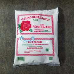 Tepung Beras Putih ROSE BRAND 500 gr / Rice flour - BERAS