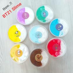 Slime BTS/ Slime BT 21/8 Varian/Slime Jiggly/Slime Tofu/ BT21