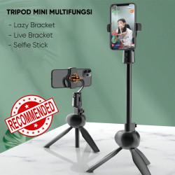 Tripod Mini Hp dan Kamera Multifungsi S8 Tripod Stand Hape Untuk Live