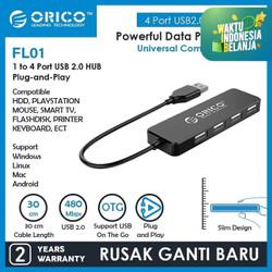 ORICO USB2.0 HUB 4-Port - FL01-FS