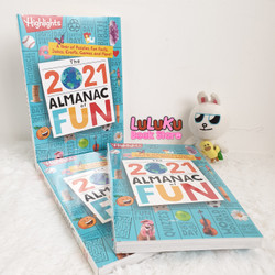 Buku Anak Import Highlights - The 2021 Almanac of Fun - activity book