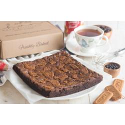 Brownies Fudgy Rhum Lotus