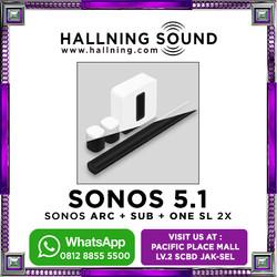 Sonos 5.1 Home Theater Sonos Arc + Sonos Sub gen 3 + Sonos SL 2x