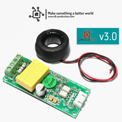 PZEM 004T PZEM-004T versi 3.0 100A Sensor Arus / Energy Meter AC